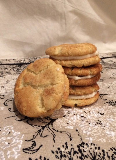 egg free snickerdoodle cookies