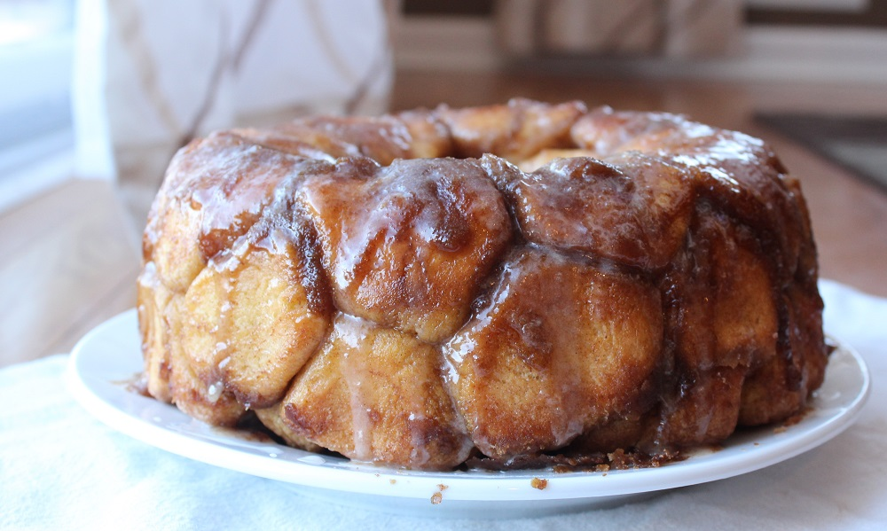 Cinnamon sugar pull apart monkey bread