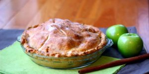 Apple Pie with Homemade Pie Crust