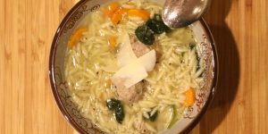 Italian Wedding Soup Recipe with Turkey Meatballs