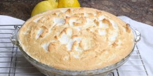 Lemon meringue pie from scratch
